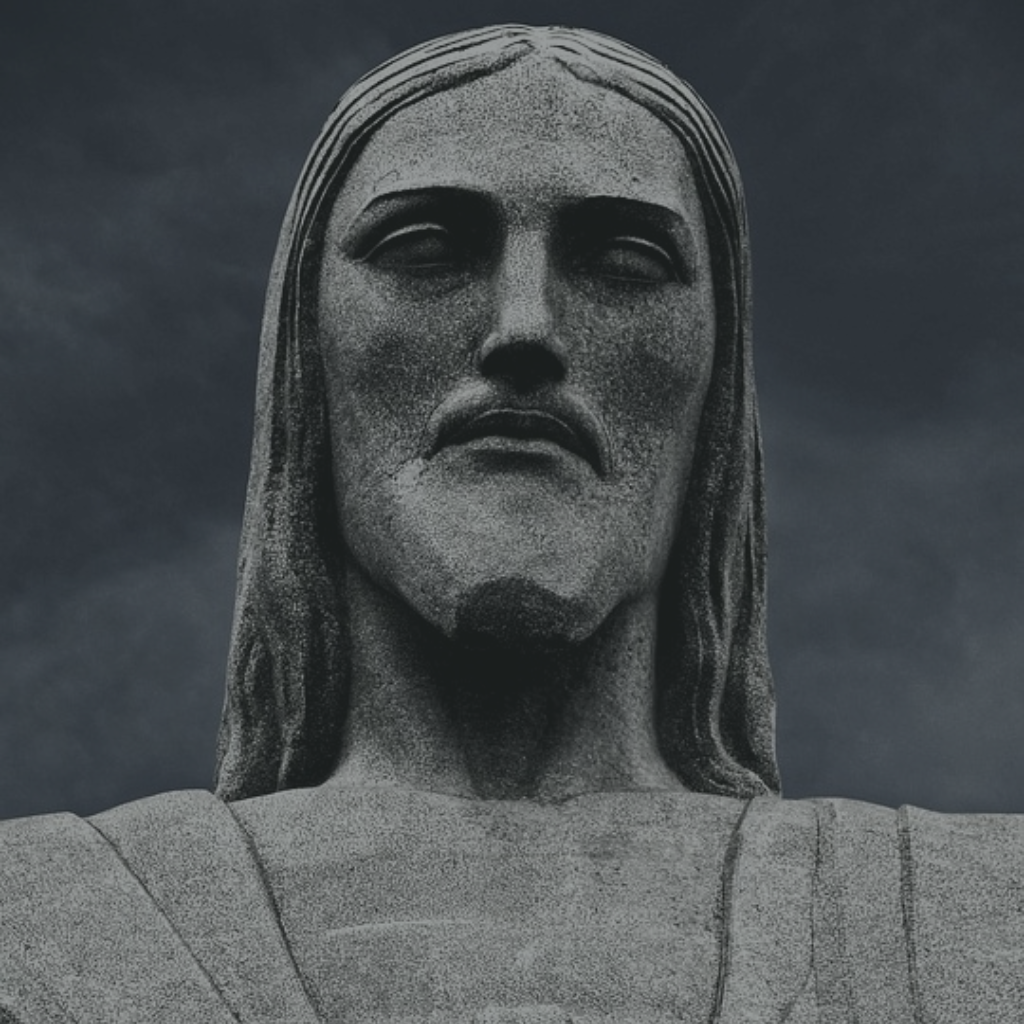 Jesus statue in detail