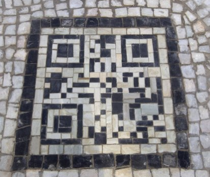 QR codes in the mosaic