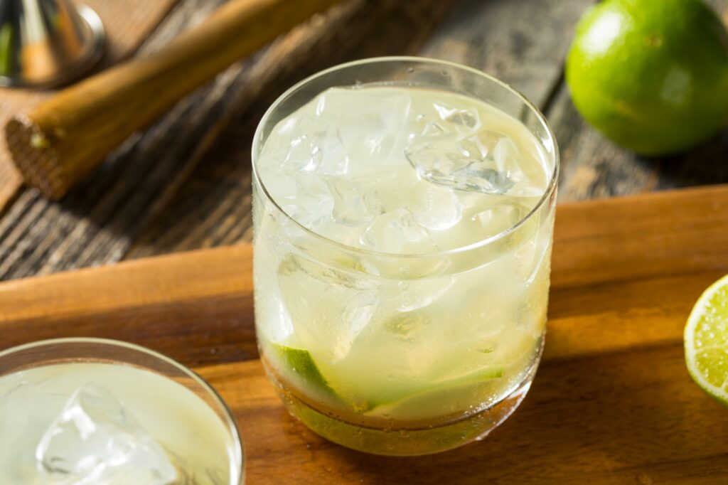 Homemade Brazilian Caipirinha Cocktails